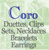 Click for Coro Duettes and Clips, Sets, Necklaces etc