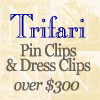 Click for Trifari Clips over $300