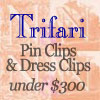 Click for Trifari Clips under $300