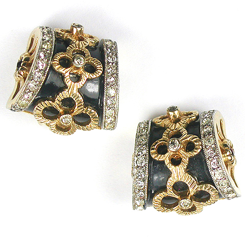 Jomaz Side Drums Clip Earrings